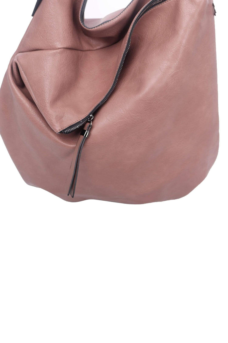 shop-sofia Vegan Boho Bag Sofia Collections Italian Silk Linen Satin