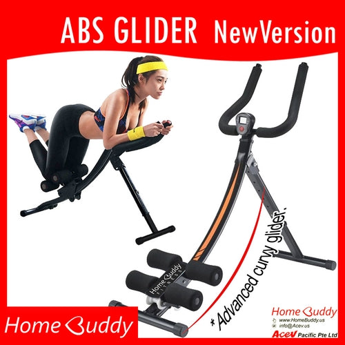 Abs and Glutes GLIDER 2017 [HEAVY DUTY Frame] | Abs Trainer | Ready Stocks!
