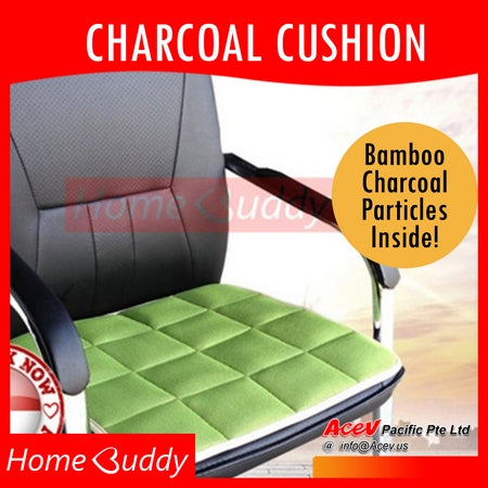 Bamboo Charcoal Cushion / seat cushion/ floor cushion/ car seat cover | Ready Stocks!