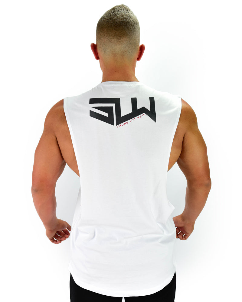 Miami Sleeveless - Strong - White