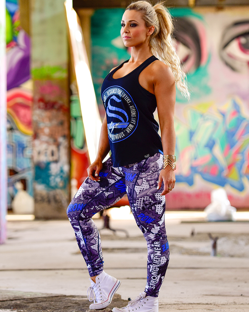 Super Compression Pants- Blue