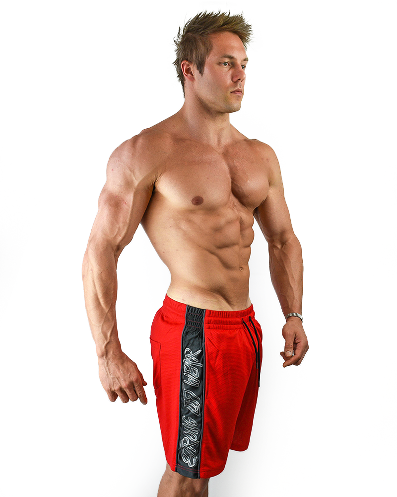 Elite Mid shorts - Red