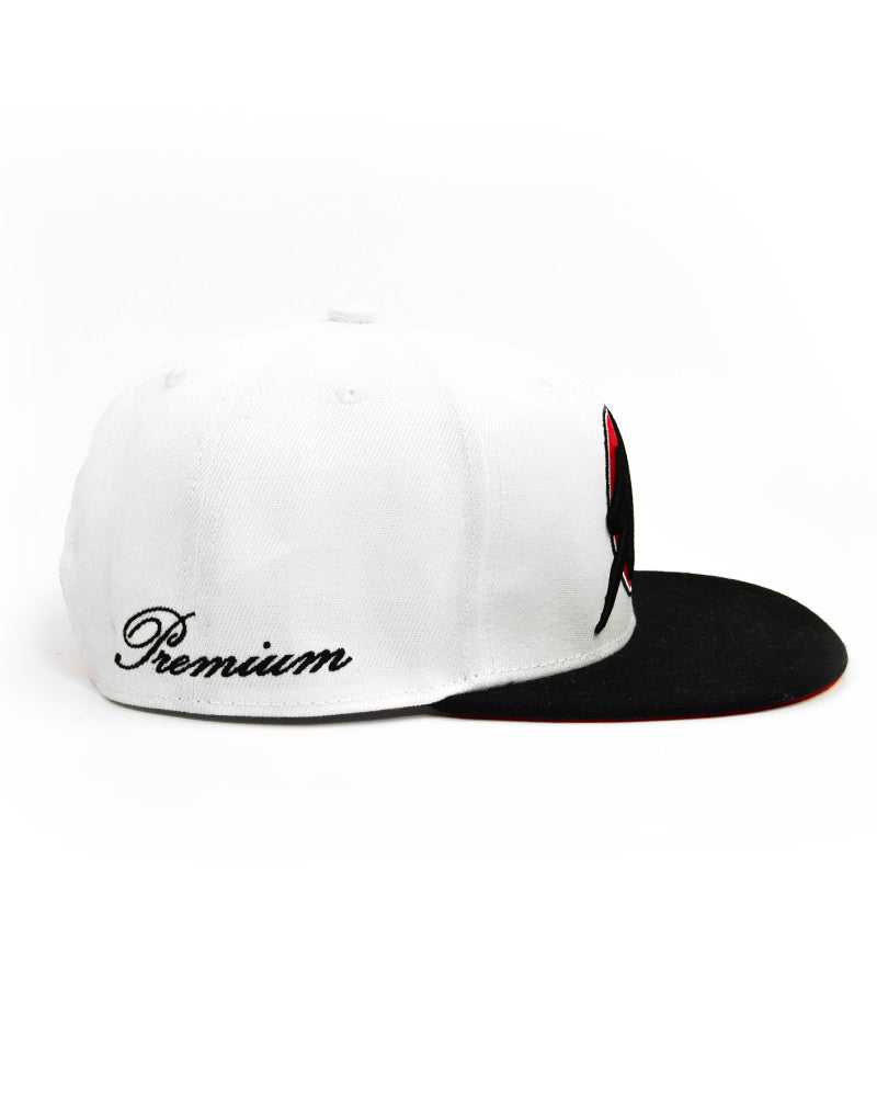S|LIFT Snapback - Retro - White & Red
