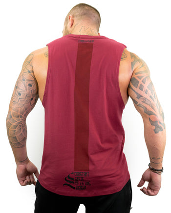 Constant Sleeveless - S - Red
