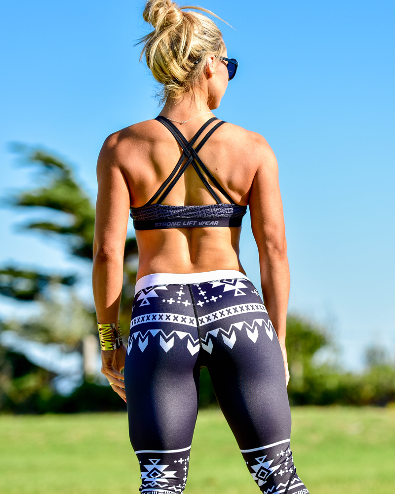 Aztec Compression Pants - Lift