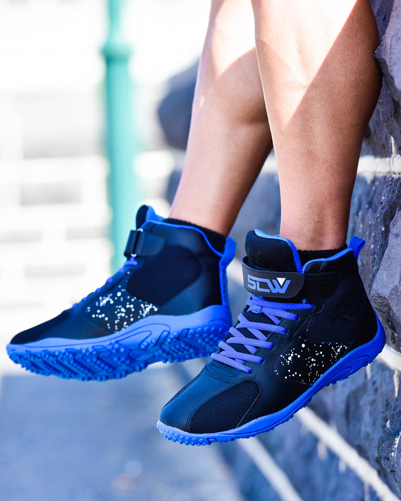 Hurricane Gym Shoe - Black / Blue