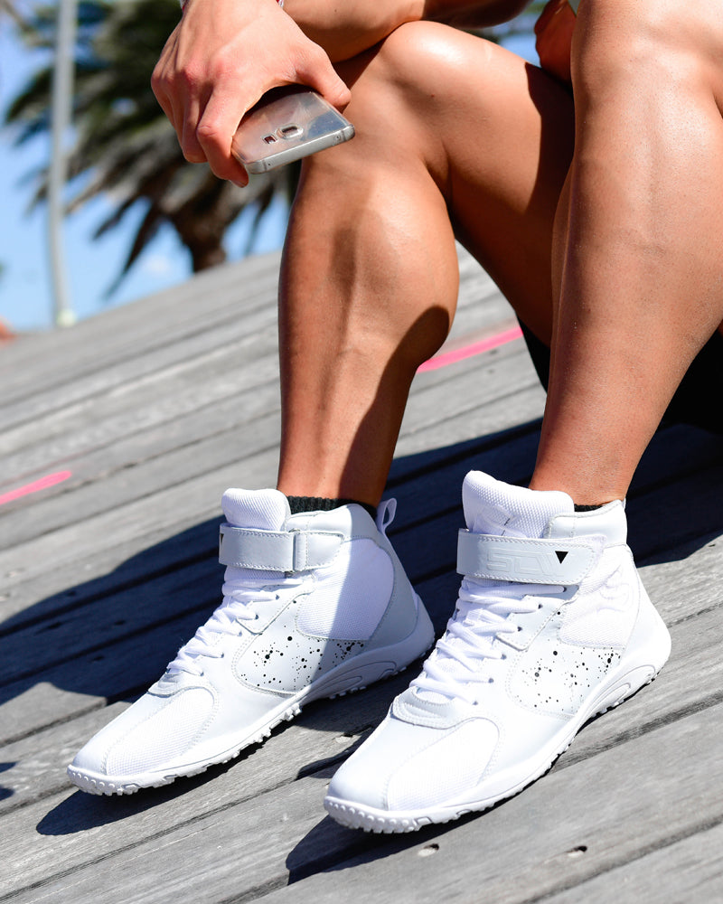 Hurricane Gym Shoe - White