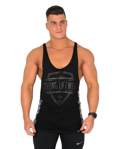 Recon T-back- Black