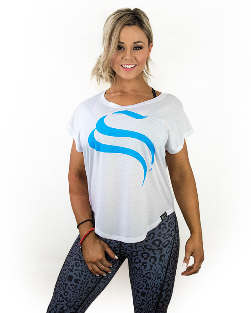 Breeze Tee - Blue