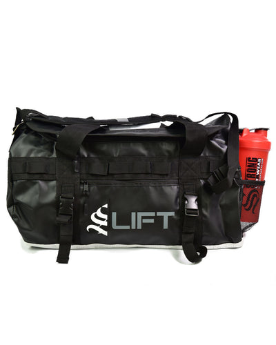 S|Lift Utility Gym Bag - Black / White
