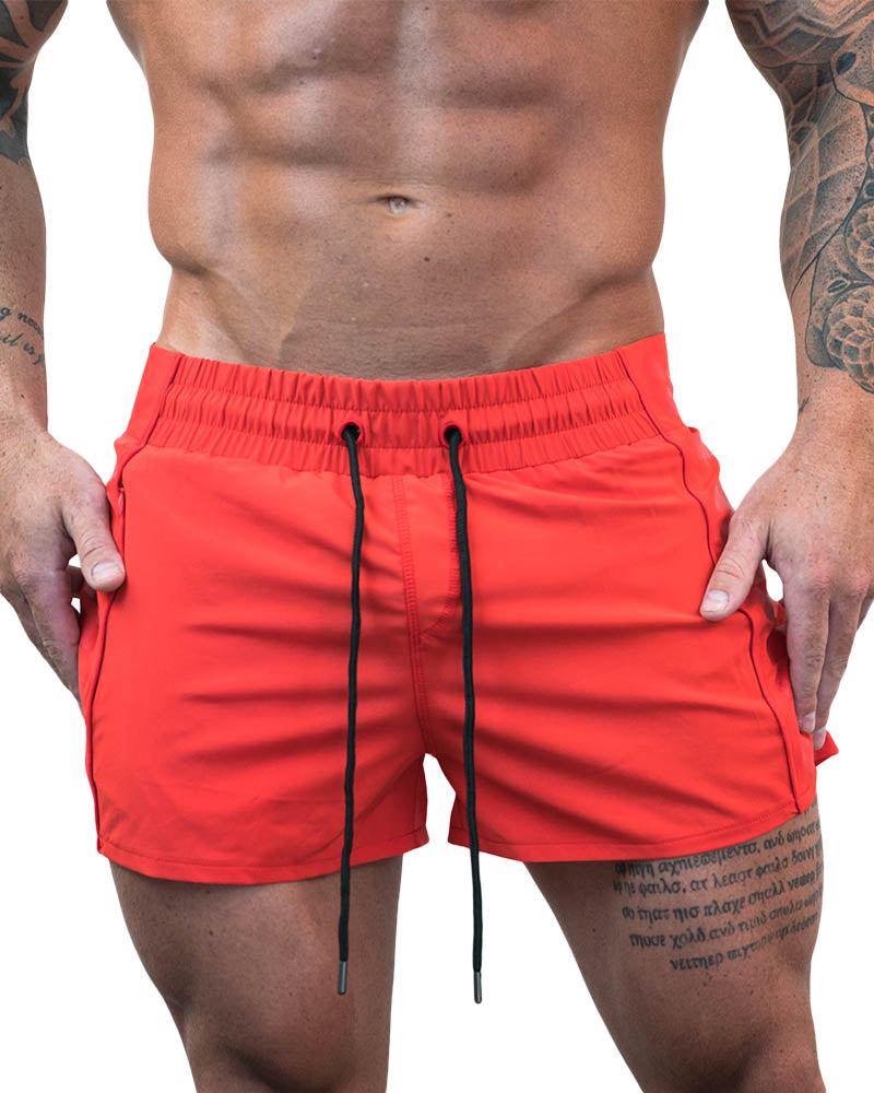 Strong Lift Shorts- Red