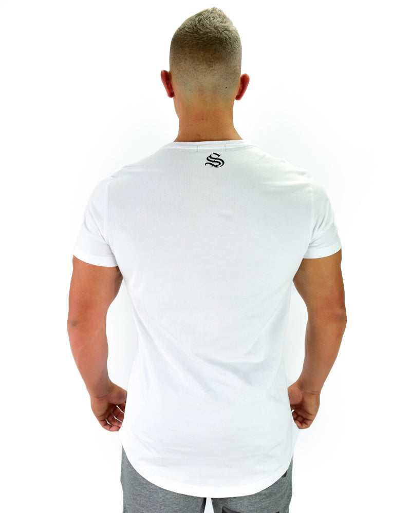 Binary Tee - CoolTech - White