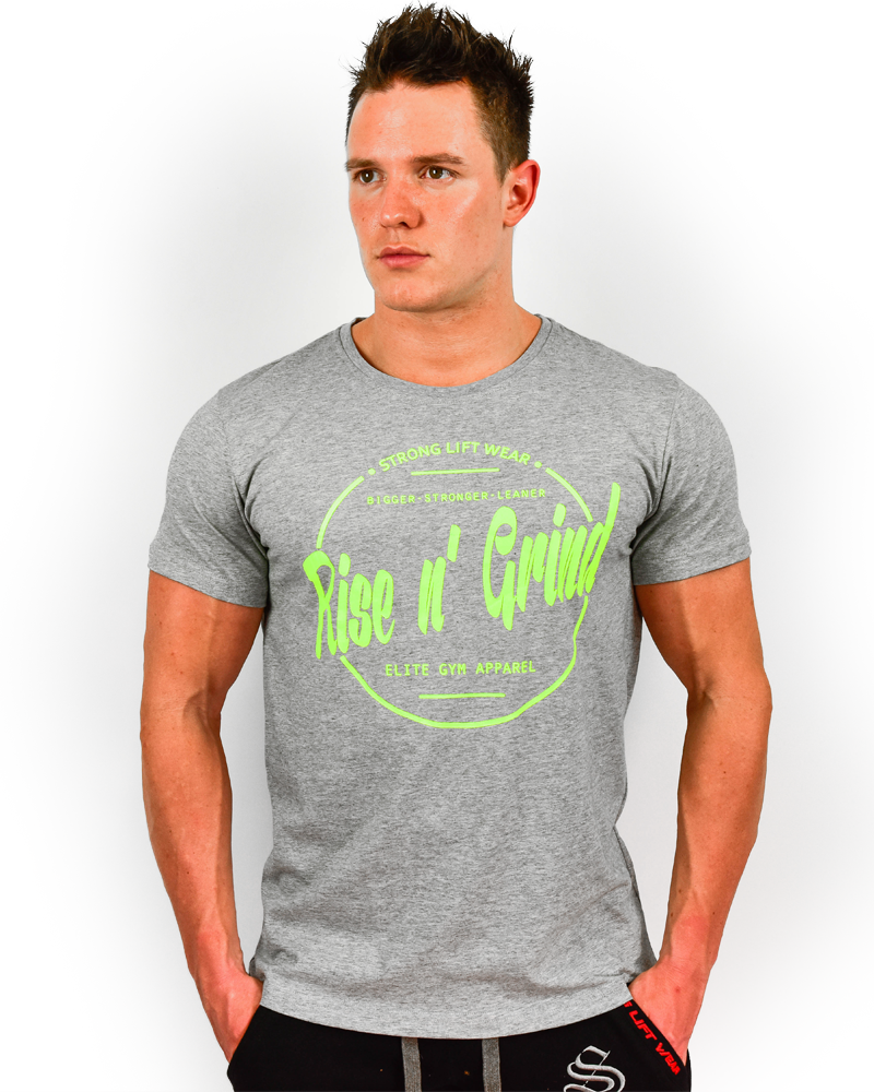 Rise n' Grind Tee II - CoolTech - Gray