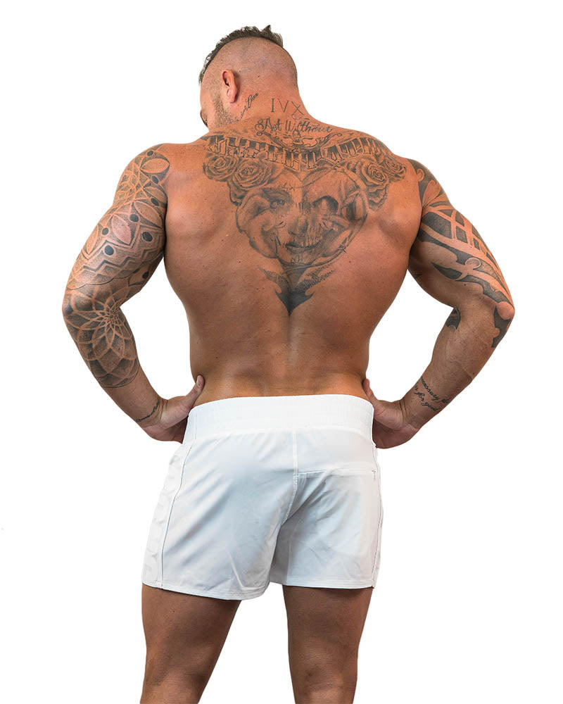 Strong Lift Shorts - White