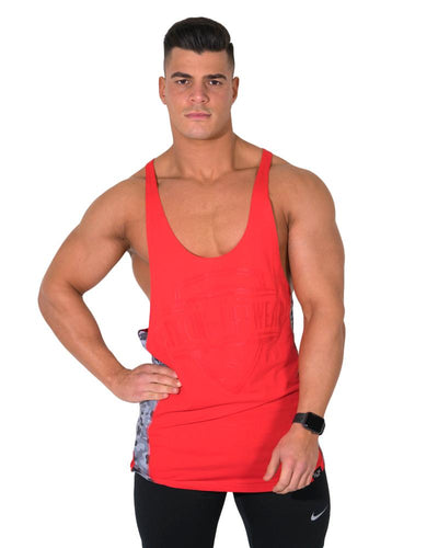 Recon T-back- Red