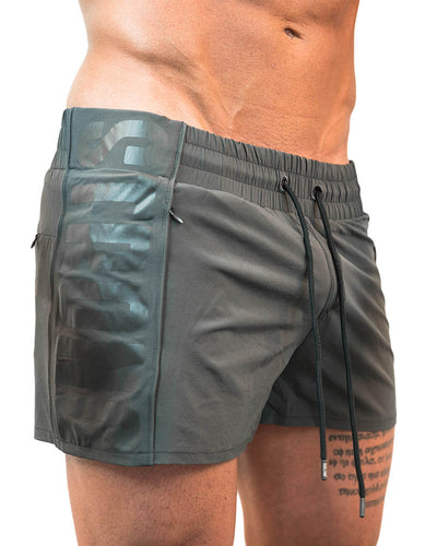 Strong Lift Shorts- Grey