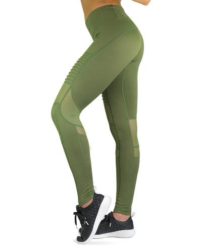Compression Pants- Element- Khaki Green