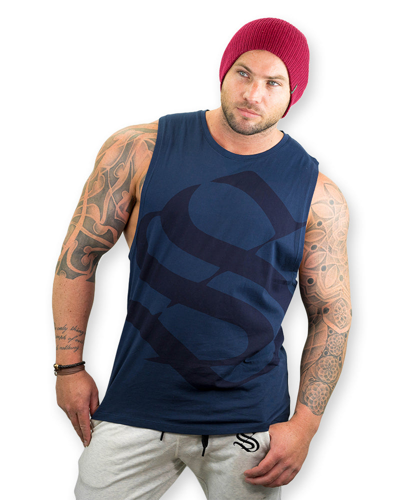 Constant Sleeveless - S - Blue