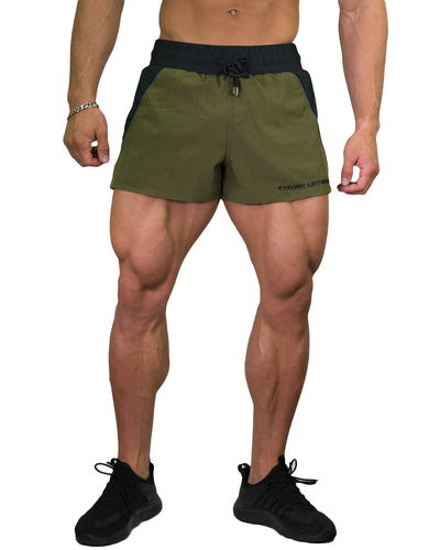 Lift Shorts - Army Green