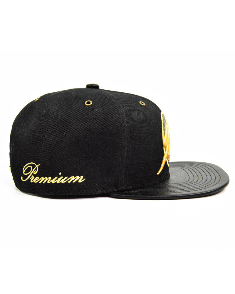 S|LIFT Snapback - Retro - Black & Gold