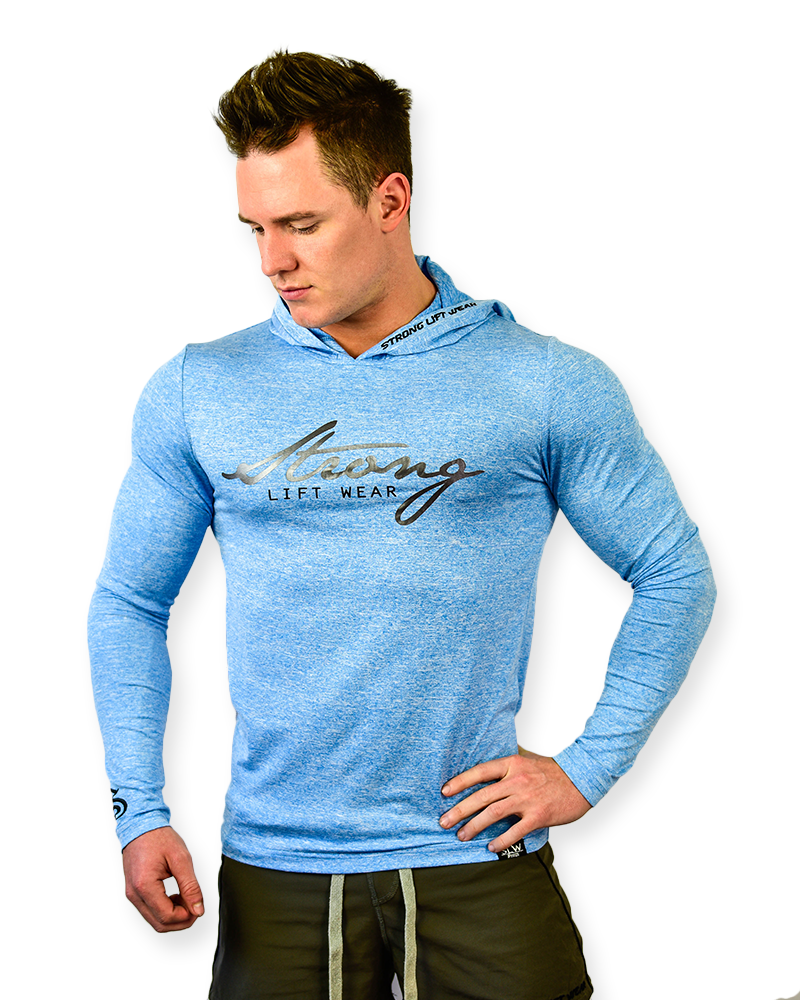 Free Flex Long Sleeve Tee- Electric Blue