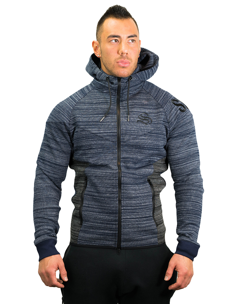 Prime Training Hoodie - Zip - Blue