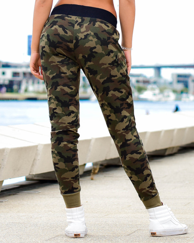Womens Training Pants - Camo