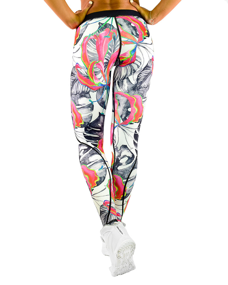 Compression Pants - Island - Pink