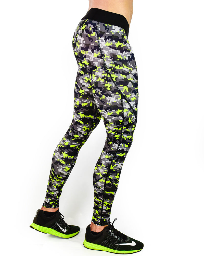 Hex Compression Pants - Hyper