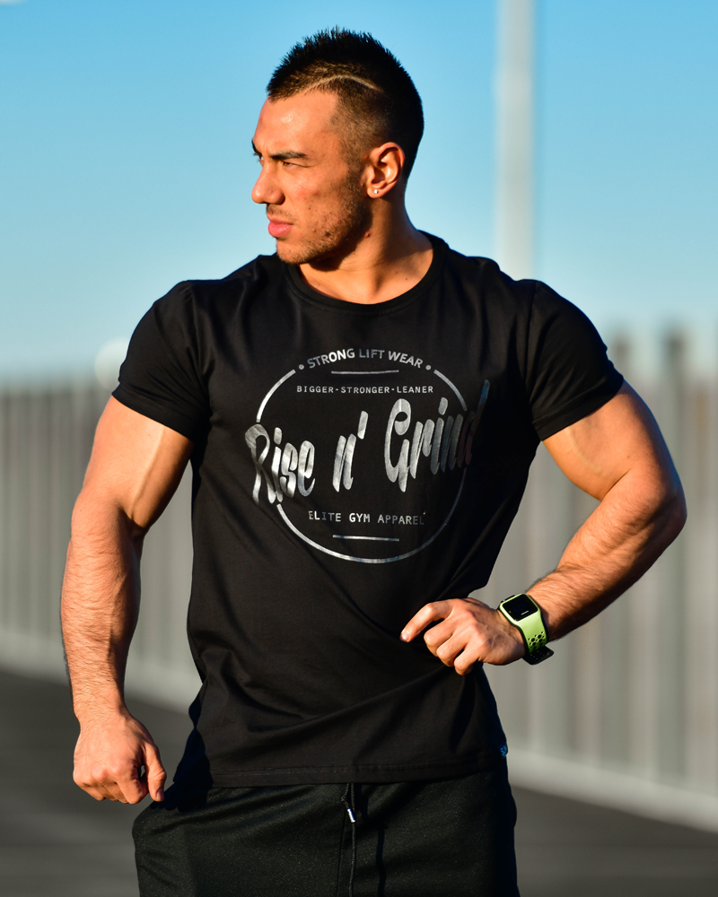 Rise n' Grind Tee II - CoolTech - Black