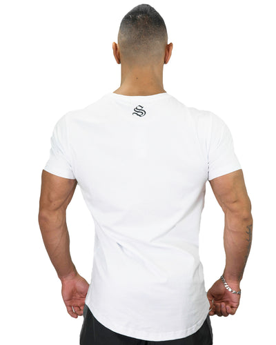 SLW CO Tee - CoolTech - White