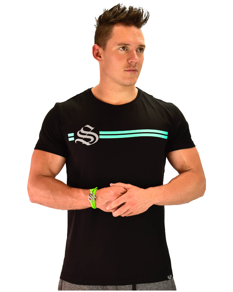 Dual Tee - CoolTech - Black