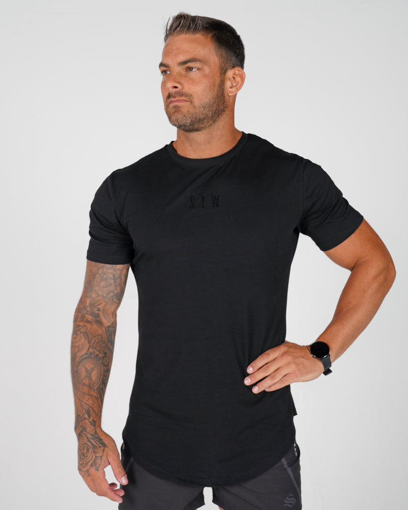 Mens Accentuate Tee - Black