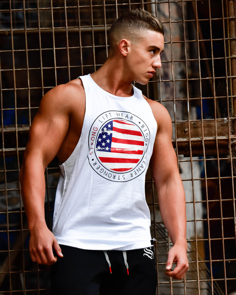 Boulder Sleeveless - USA - White