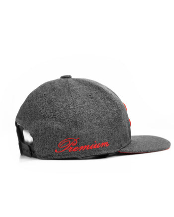Snapback - SLW - Dark Grey / Red