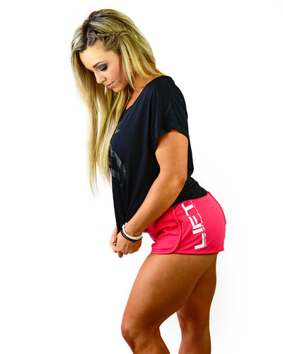 Womens Strong Shorts - Coral