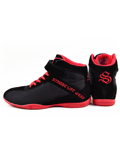 Supertops - Black / Atomic Red