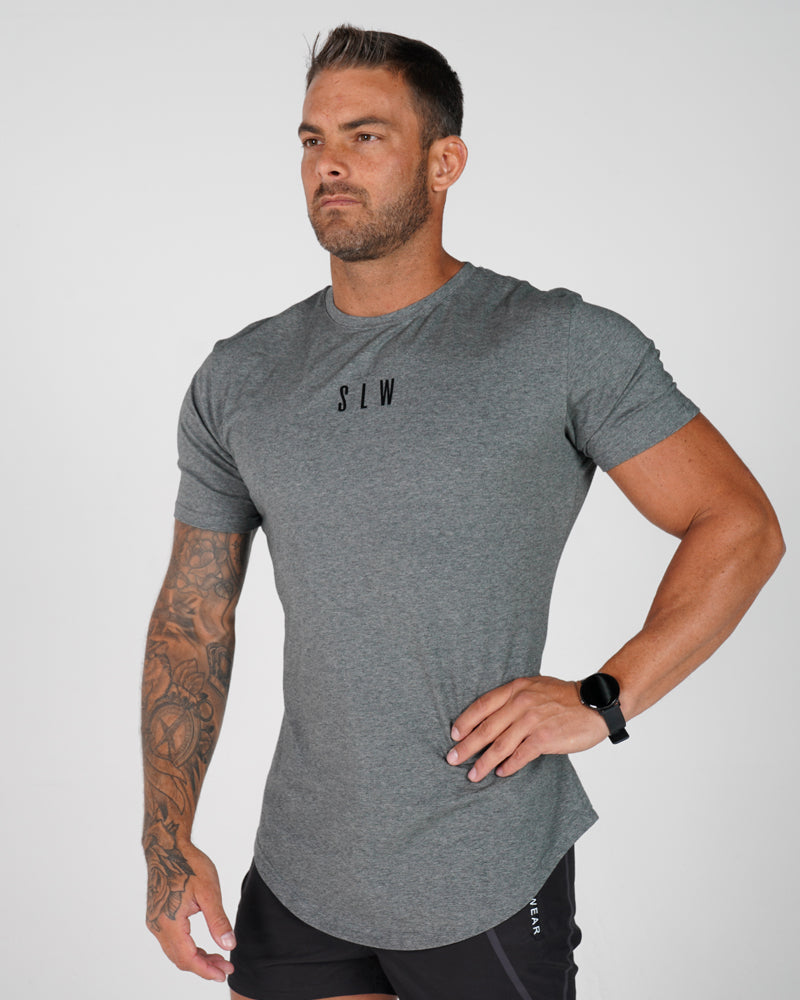 Mens Accentuate Tee - Grey