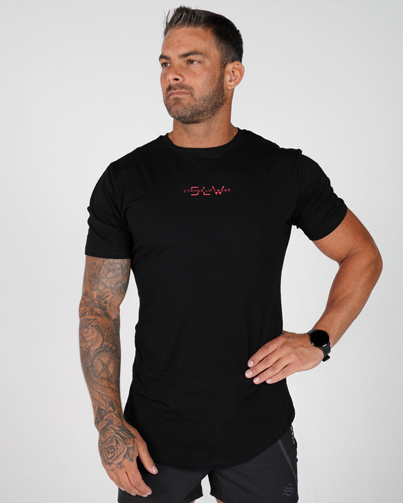 Mens Sculpt Tee - Black