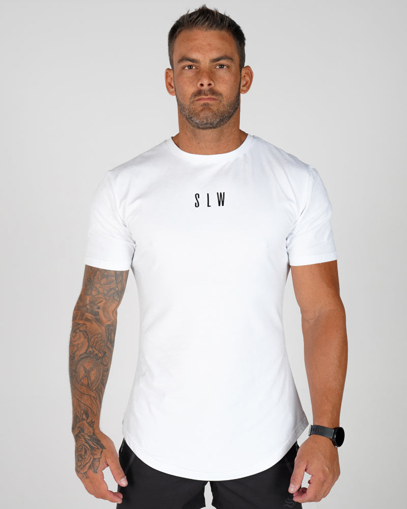 Mens Accentuate Tee - White
