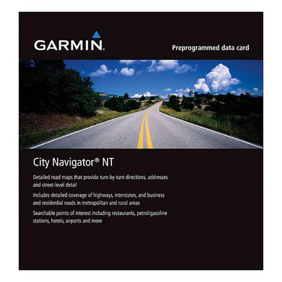 Garmin City Navigator Nt Map Microsd North America