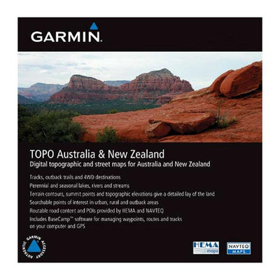 Garmin TOPO Lite Australia and New Zealand SD/microSD