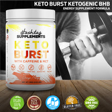 Keto Burst - Kentones with Caffeine and MCT - Orange Mango