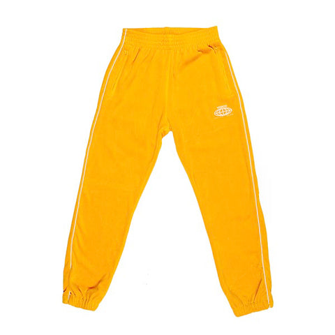 VOE Enterprise Velour Sweatpants (Men's) - Mustard