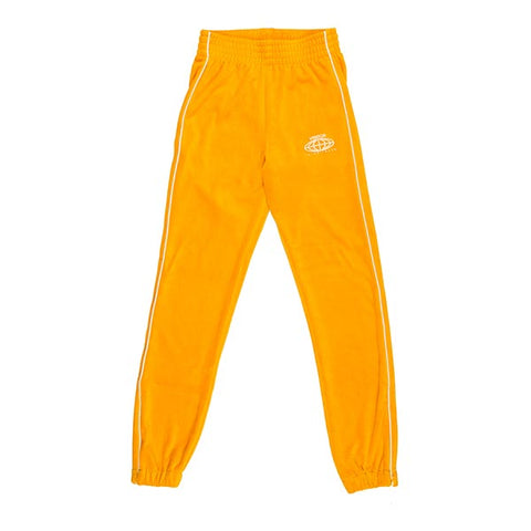 VOE Enterprise Velour Sweatpants (Women's) - Mustard