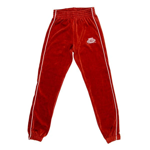 VOE Enterprise Velour Sweatpants (Women's) - Rust