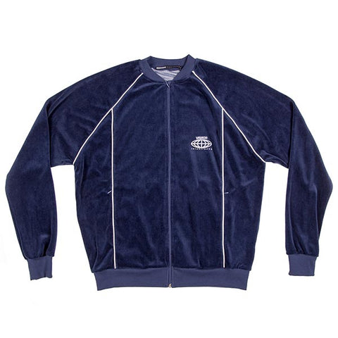 VOE Enterprise Velour Sweat Jacket (Men's) - Navy