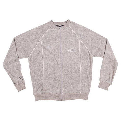 VOE Enterprise Velour Sweat Jacket (Men's) - Heather Grey