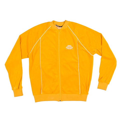 VOE Enterprise Velour Sweat Jacket (Men's) - Mustard
