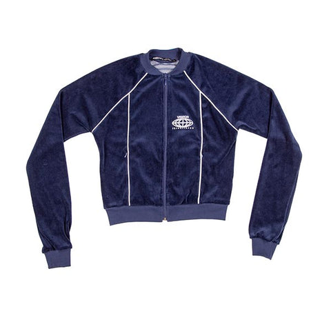 VOE Enterprise Velour Sweat Jacket (Women's) - Navy